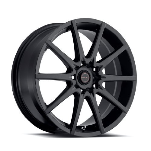 Focal 428SB F-04 Matte Black Wheel with Painted (17 x 7.5 inches /5 x 100 mm, 42 mm Offset)