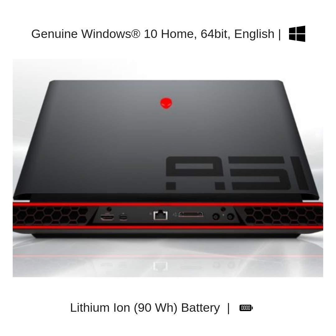 "HIDevolution Alienware Area-51M 17.3"" FHD 144Hz Gaming Laptop | White | 3.6 GHz i7-9700K, RTX 2070, 16GB 2666MHz RAM, PCIe 128GB SSD + 1TB SSHD | Performance Upgrades & Warranty"