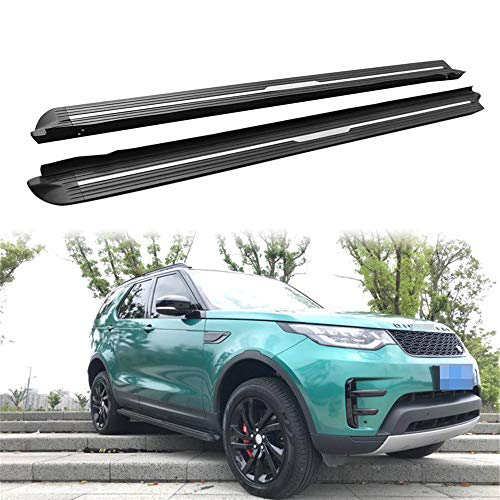 (KPGDG Fit for Land Rover Discovery 5 L462 LR5 2017 2018 2019 Aluminium Running Boards Side Step Nerf Bar Protector Bar)