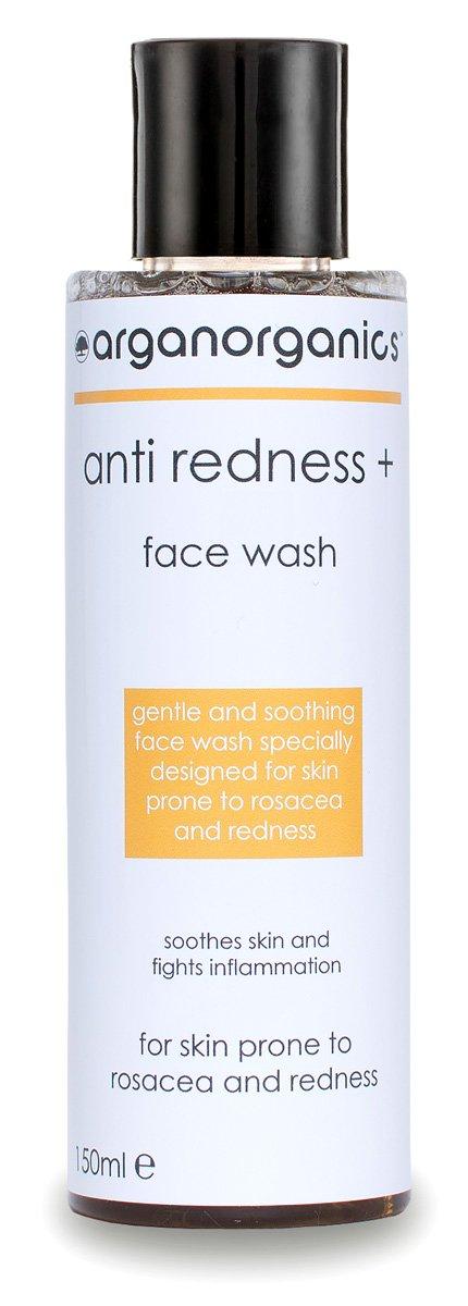Rosacea Face Wash - Anti Redness Cleanser (150ml) arganorganics RFW