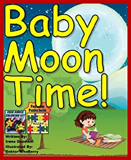 Bedtime Stories: Baby Moon Time (Bedtime Stories Children's book)  (Illustrated Picture Book for Early learners ages 2-8) (Bedtime Stories for  Kids)