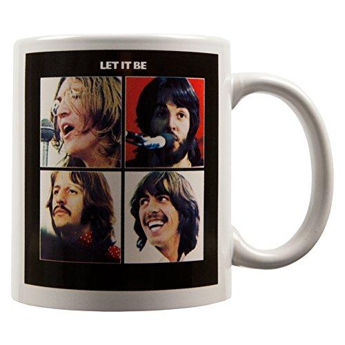 The Beatles - Let It Be 12 oz Coffee Mug (Beatles Mug)