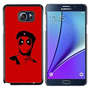 Queen Pattern - FOR Samsung Note 5 N9200 N920 - Rebel Superhero - Cubierta del caso de impacto con el patr???¡¯???€????€?????n Art Designs