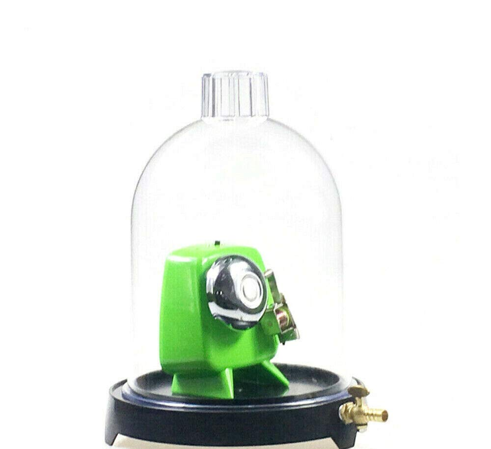 VPABES Vacuum Hood Suction Disc Bell in Vacuum Laboratory Jar for Sound Propagation Experiment and Low-Pressure Plastic Cover Boiling Test by VPABES