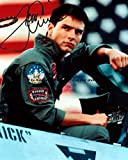 Tom Cruise Top Gun Autographed 11x14 Preprint Signed Photo