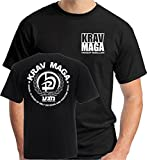 T-Shirt Sport T0643 Arti marziali Krav Maga Israel system of self defence (Color Black) Size XL