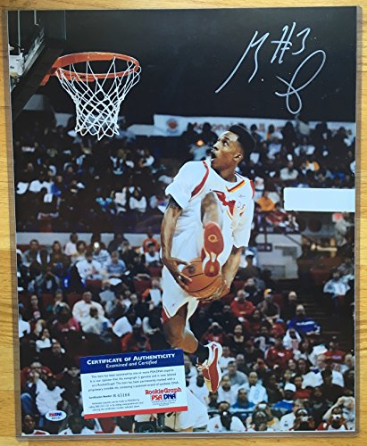 Brandon Jennings 16x20 Signed Photo Autographed w/ PSA/DNA COA