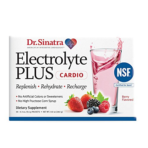 Dr. Sinatra's NSF Sport Certified ElectrolytePLUS Cardio Replenishes Your Body With Electrolytes, Vitamins And Minerals—With No Artificial Anything! 30 Sachets (30-Day Supply) Review
