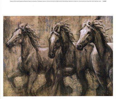Desert Kings by Karen Dupre - 16.5x14.25 Inches - Art Print Poster