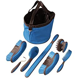 Tough 1 Great Grip Grooming Package (8-Piece), Blue