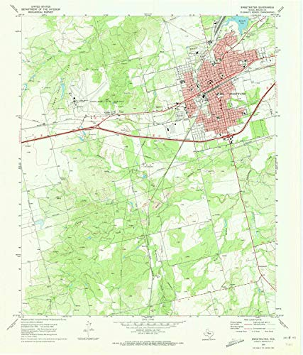YellowMaps Sweetwater TX topo map, 1:24000 Scale, 7.5 X 7.5 Minute, Historical, 1969, Updated 1973, 27 x 23 in - Paper