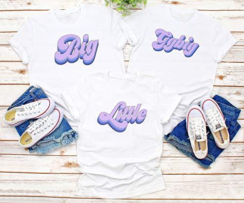 Girl Gang Big Little Tees/big little shirts/greek gifts apparel/greek sorority t shirts, Sorority Family Shirts Sorority tanks S12