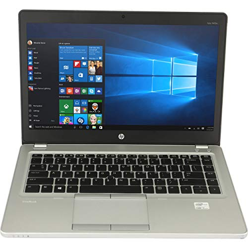 HP EliteBook Folio 9470M 14in Intel Core i5-3427U 1.8GHz 8GB 180GB SSD Windows 10 Pro (Renewed) (Hp Refurbished Laptop Windows 8)