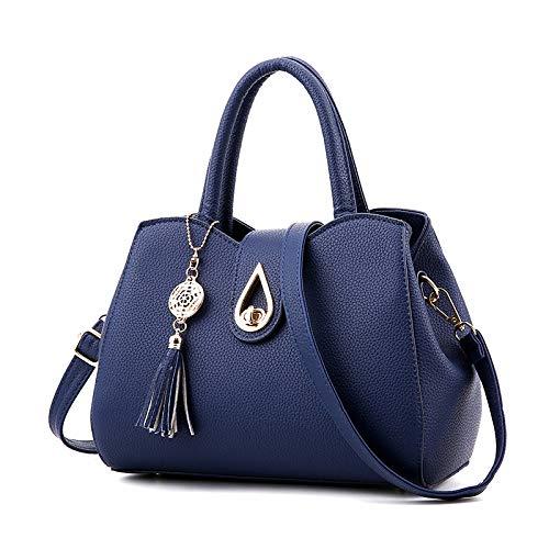 Slung Sports Female Handbags vino hlh Shoulder Azul Women's De Rojo Fashion Prusia 2018 Bag Tide Bag wTWxX1q0