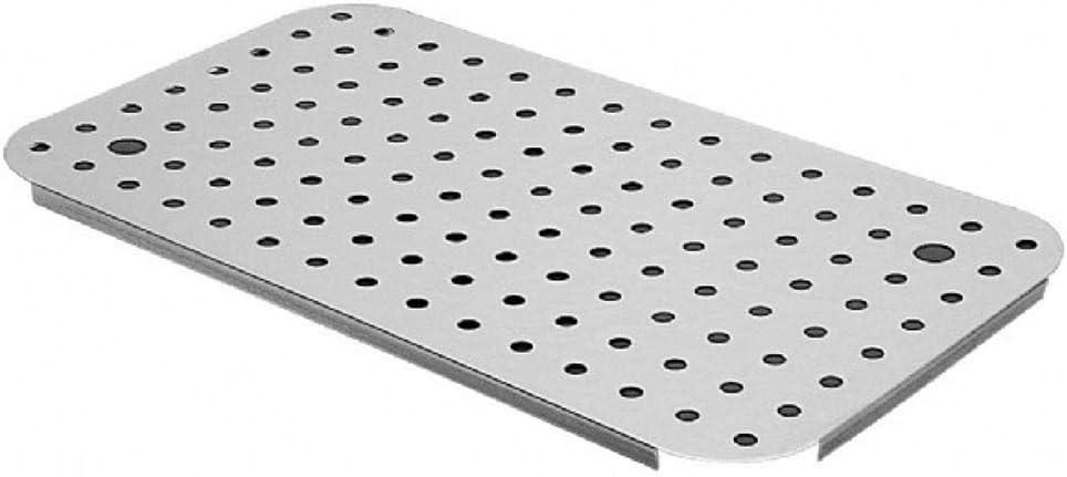 Acciaio Inossidabile 650 x 530 mm Decora 5201702 Griglia Argento
