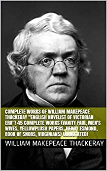 Complete Works Of William Makepeace Thackeray Quot English border=