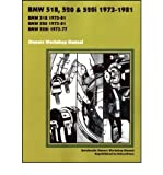 BMW 518, 520 & 520i 1973-1981 Owner's Workshop Manual (Paperback) - Common