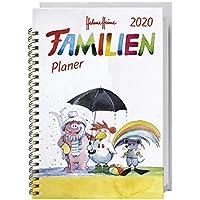 Helme Heine Familienplaner Buch A6 2020 11,6x16,3cm