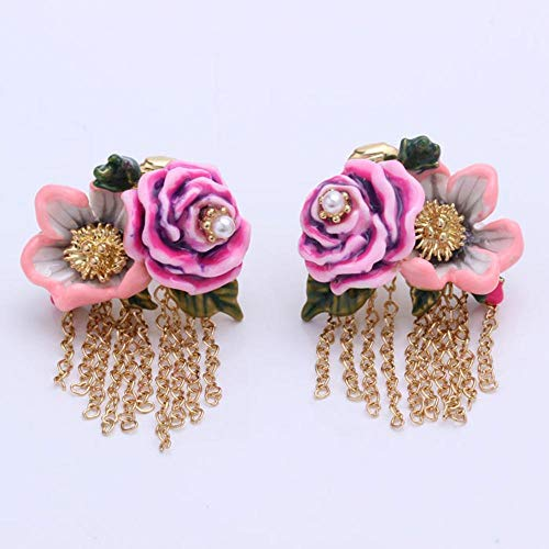MYYQ. Earring Fashion Earring Earrings Ear Clip Tassel Earrings ()