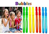 Mega Pack of 12 Big 14'' Inches Bubble Wand Assortment - Super Value Pack of Summer Toy Party Favors - Outdoor Sport Activity for All Ages!