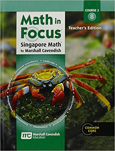 Amazon.com: Math in Focus Singapore Math - Course 2 B - Teacher's ...