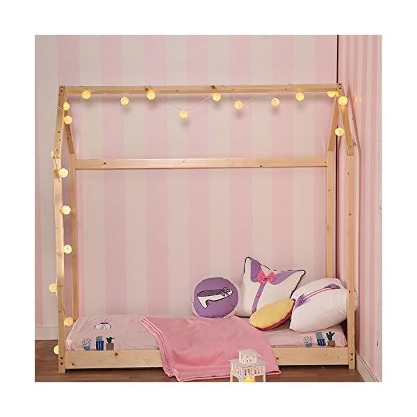 Kids House Bed Frame & Mattress 2