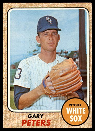 1968 Topps #210 Gary Peters Ex-Mint White Sox - 1968 Chicago White Sox
