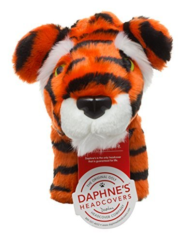 Daphne's Novelty Golf Hybrid or Rescue Wood Headcover. Tiger -