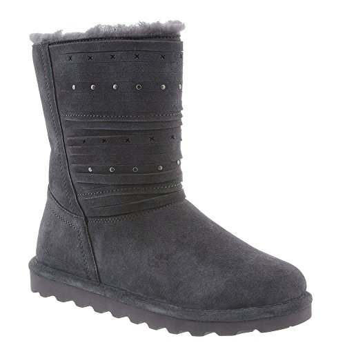 BEARPAW Womens Boot Kennedy Winter Boot Womens Charcoal Size 8 B06XY6NBJ7 Parent 1134a8