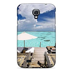 WilliamMendez Galaxy S4 Well-designed Hard Case Cover Aqua Waters Protector