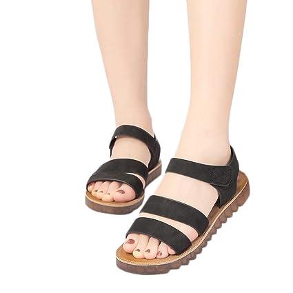 d073cfc67dd47 Amazon.com: Sandals for Women Bummyo Women'S Sandals Flat Open Toe ...