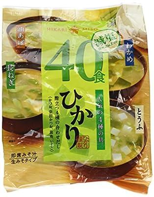 Hikari Miso _freeze-dried Miso Soup_4types 40 Sets