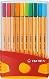 STABILO Point 88 Fineliner, Desk Set - Assorted Colours, Wallet of 20 Bild