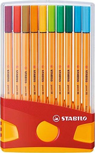 STABILO point 88 ColorParade 20er Etui - Fineliner