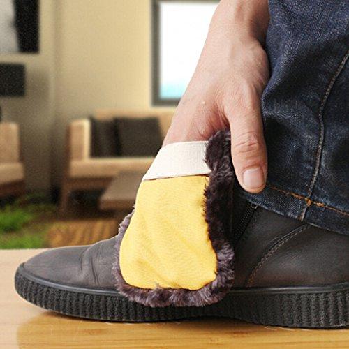 Tampon Doux Bottes Chaussures Brillant F Chiffon Fityle De Polissage w0qP5UC