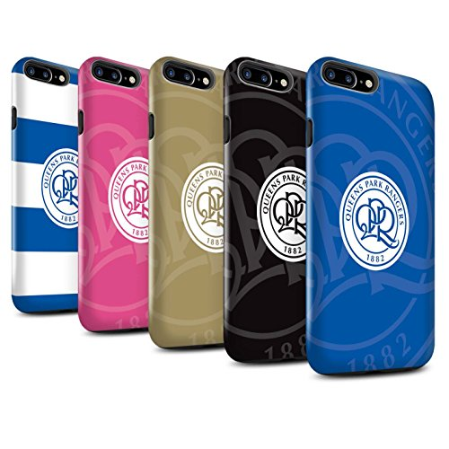 Officiel Queens Park Rangers FC Coque / Brillant Robuste Antichoc Etui pour Apple iPhone 7 Plus / Pack 11pcs Design / QPR Crête Club Football Collection