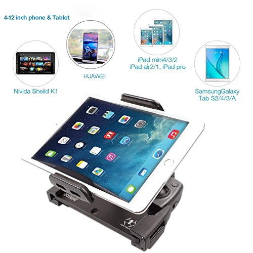 ab05bf06319 SKYREAT Upgrade Aluminum-Alloy 4-12 Inches Foldable Tablet Ipad Mount Holder  ...