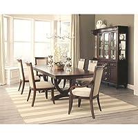 Coaster 105443 Home Furnishings Arm Chair (Set of 2), Dark Cognac