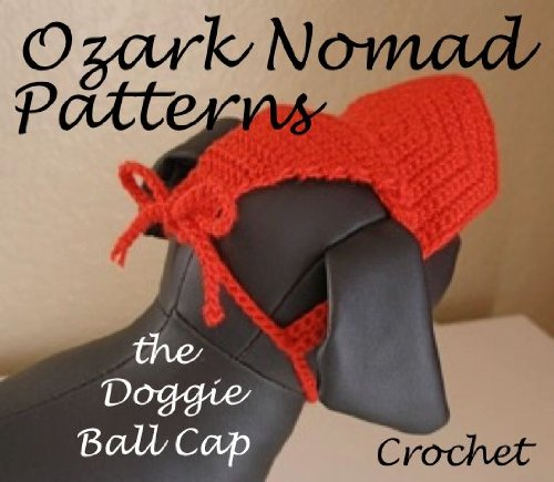 Ozark Nomad Patterns - Crochet Pattern for the Little Doggie Ball Cap