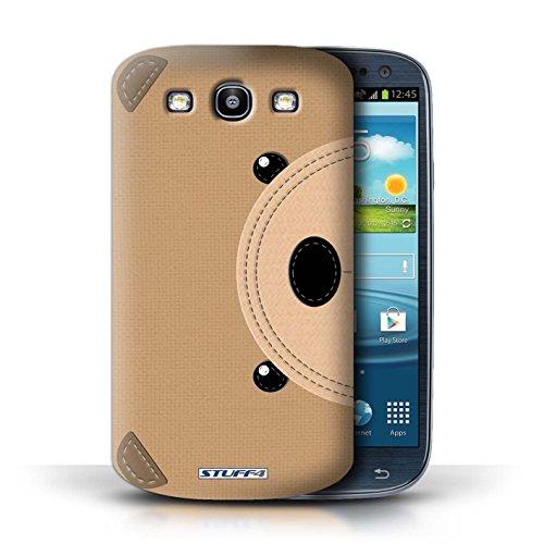 Coque de Stuff4 / Coque pour Samsung Galaxy S3/SIII / Ours Design / Cousu des Animaux Effet Collection
