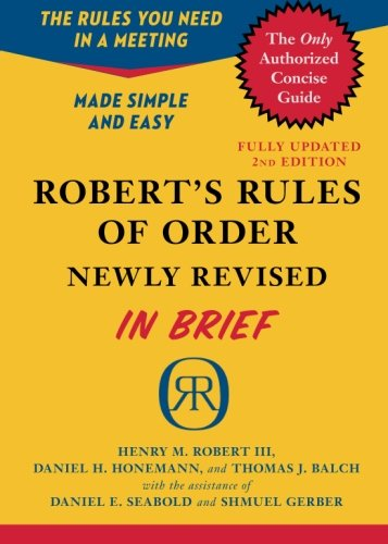 buy robert's rules of order