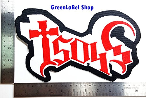 Ghost Bc New Costumes (Big Large Jumbo Ghost B.C. Men's Meliora Music Band Punk Rock Heavy Metal Rock Music Band Patch Logo Sew Iron on Embroidered Appliques Badge Sign Costume Send Free Registration)