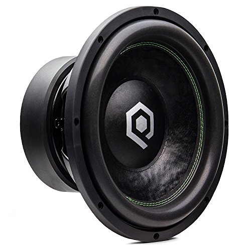 SoundQubed HDS3.1 1200W RMS Dual 2 Ohm Subwoofer Series (12-inch Dual 2 Ohm) ()
