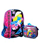 Smurfs Smurfette Large Backpack with Lunch Kit, Bags Central