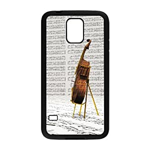 SYYCH Phone case Of Personalized Design Violin 1 Cover Case For Samsung Galaxy S5 i9600