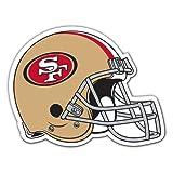 NFL San Francisco 49Ers Team Magnet, Large, Red