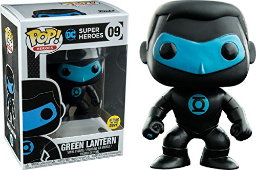 Funko Pop! Vinyl Justice League Green Lantern Silhouette Glow in the Dark Entertainment Earth Exclusive -