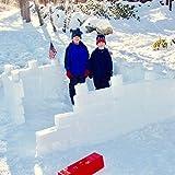 Flexible Flyer Snow Fort Building Kit Brick Form