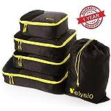 Travel Packing Cubes Set – Large Medium Small Luggage Bag Organizer for Suitcase