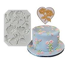 Cake Decorating Gumpaste Flowers & The Easiest Rose Ever Fondant mold